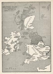 Viking Britain Map