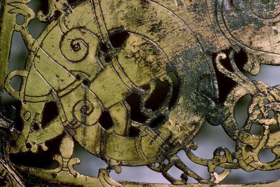 Viking bronze Weather-Vane, 10th-11th century. Artist: Unknown-Unknown-Giclee Print