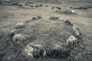 Viking Burial Ground, Lindholm Hoje, Aalborg-Lindholm, Jutland, Denmark