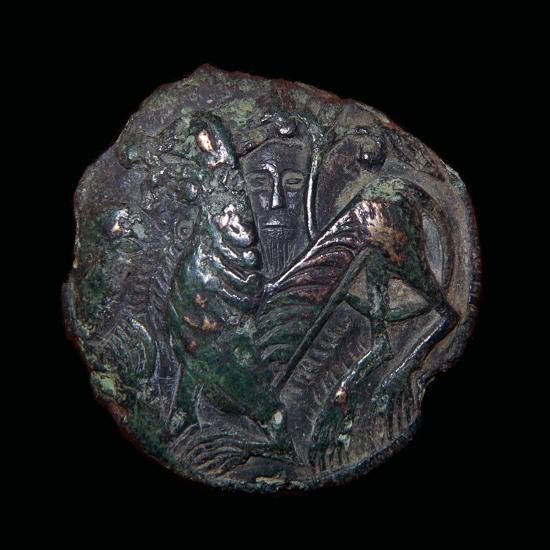 Viking metalwork from a hoard on the Isle of Man. Artist: Unknown-Unknown-Giclee Print