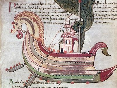 Viking Ship, 10th Century--Giclee Print