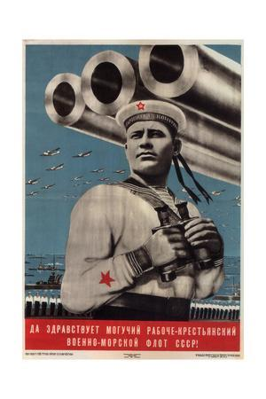 Long Live the Mighty Worker-Peasant War-Navy Fleet of the USSR!, 1939