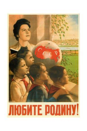 Love the Motherland!, 1949-1950