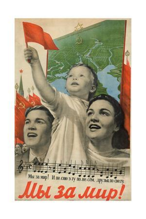 We are for Peace!, 1952