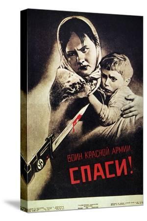 Soviet Poster, 1942