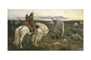 A Knight at the Crossroads (A Vityaz at a Fork in the Road) by Viktor Vasnetsov