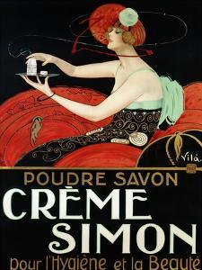 Creme Simon, ca. 1925 by Vila