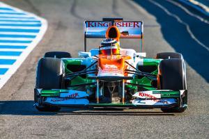 Team Force India F1, Nico Hulkenberg, 2012 by viledevil