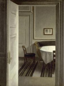 Intérieur, Strandgade,30 by Vilhelm Hammershoi
