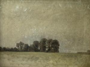 Landscape, 1909 by Vilhelm Hammershoi