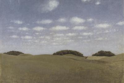 Landscape from Lejre, 1905 by Vilhelm Hammershoi