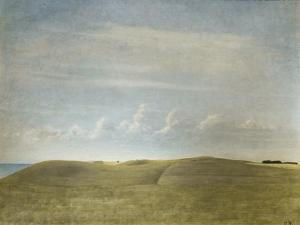 Landscape (view of Refsnaes), 1900 by Vilhelm Hammershoi