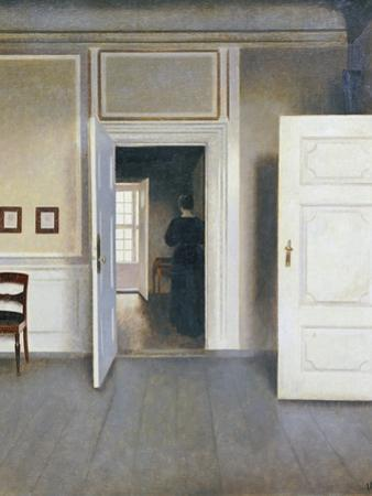 Woman in an Interior, Strandgrade 30, 1901