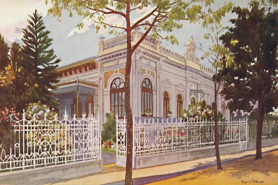 Vilino Nair, Residence of Admiral Baron de Teffé von Hoonholtz, Petropolis, 1914-Edgar L Pattison-Giclee Print