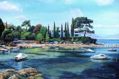 Villa and Boats, South of France-Trevor Neal-Giclee Print