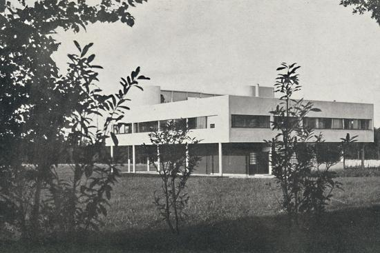 'Villa at Poissy, constructed in reinforced concrete', 1933-Unknown-Photographic Print