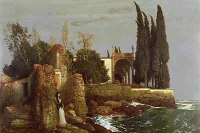 Villa by the Sea, 1878-Arnold Bocklin-Giclee Print
