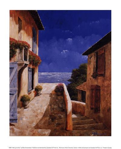 Villa by the Sea-Gilles Archambault-Art Print