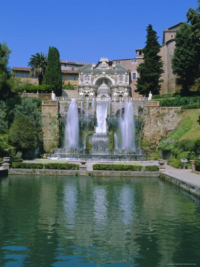 Villa d'Este, Tivoli, Lazio, Italy-Bruno Morandi-Photographic Print