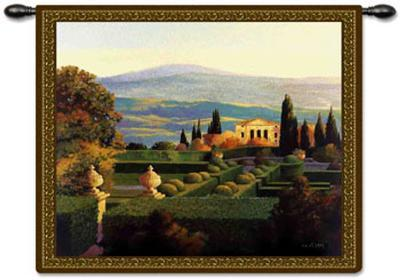 Villa d'Orcia-Max Hayslette-Wall Tapestry