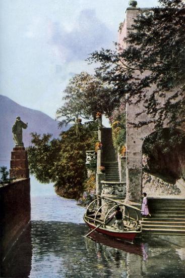 Villa Del Balbianello, Lenno, Lake Como, Italy, C1930S-Donald Mcleish-Giclee Print