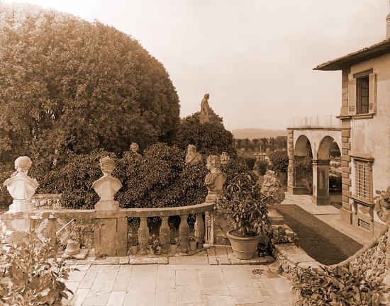 Villa Gamberaia-Charles Latham-Giclee Print