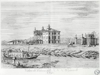 Villa Giovanelli at Noventa Padovana-Gianfranco Costa-Giclee Print