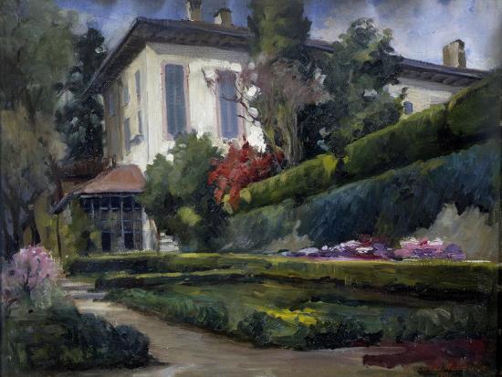 Villa Gola in Calco, 1931-Riccardo Brambilla-Giclee Print