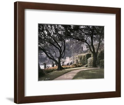 Villa in the Small Town of Roquebrune-Maynard Owen Williams-Framed Photographic Print