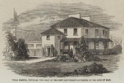 Villa Marina, Douglas, the Seat of the New Lieutenant-Governor of the Isle of Man--Giclee Print
