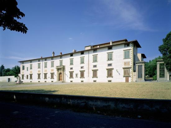 Villa Medicea Di Castello, Begun 1477--Giclee Print