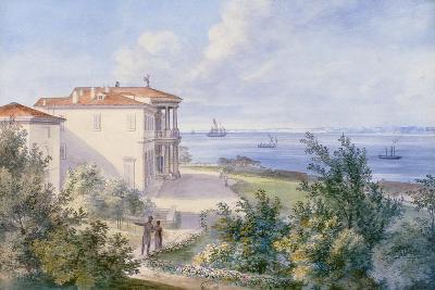 Villa Murat, Campo Marzio in Trieste, 1820--Giclee Print