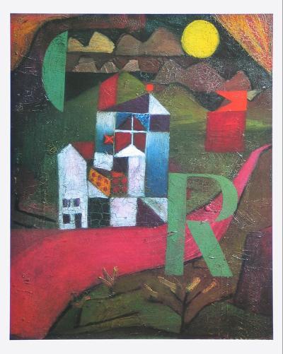 Villa R., 1919-Paul Klee-Art Print