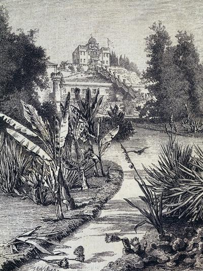 Villa Selvatico on St Helena Hill in Battaglia Terme--Giclee Print