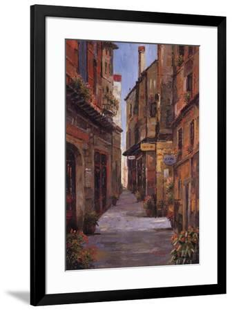 Village Alleyway-Alfred Herbert-Framed Art Print