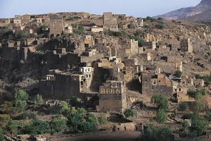 Village Along Road to Manakha, Sana'A Governorate, Yemen