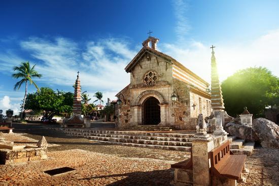 Village Altos De Chavon, Dominican Republic-Iakov Kalinin-Photographic Print