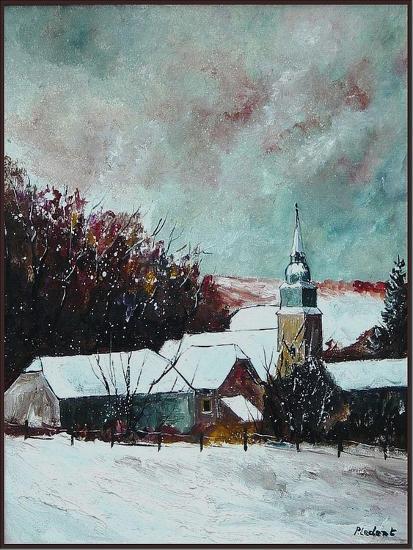 Village ardennes belgium-Pol Ledent-Art Print