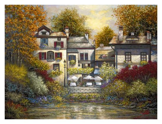 Village at Doric-Joe Sambataro-Art Print