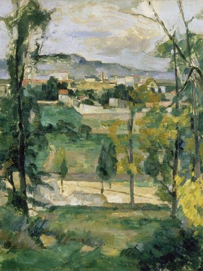 Village Behind Trees Ile De France Village Derriere Les Arbres Ile De France C 1879 Giclee Print By Paul Chabas Artcom