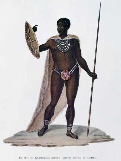 Village Chief of Kabobiquois People--Giclee Print