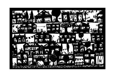 Village City, 2005-Beatrice Coron-Giclee Print