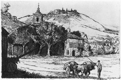 Village En Biscaye, 1924-JP Tillac-Giclee Print
