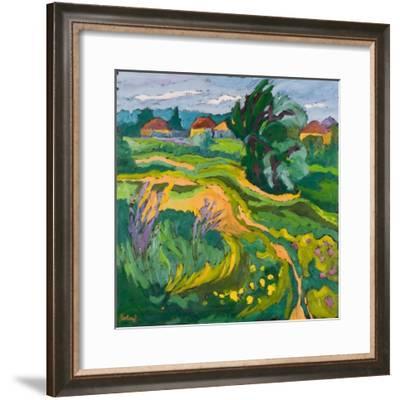 Village End, 2006-Marta Martonfi-Benke-Framed Giclee Print