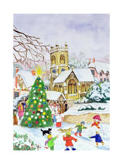 Village Festivities, 2005-Tony Todd-Giclee Print