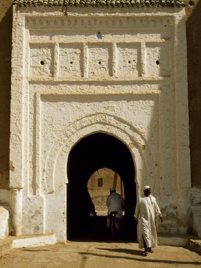 Village Gateway on the 'Circuit Touristique' South of Rissani-Amar Grover-Photographic Print