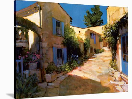 Village in Provence-Philip Craig-Stretched Canvas Print
