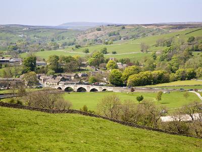 Village of Burnsall in Wharfedale, Yorkshire Dales, Yorkshire, England, United Kingdom, Europe-Mark Sunderland-Photographic Print