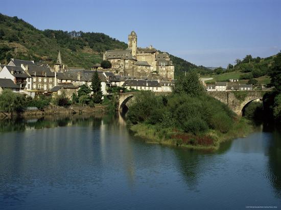 Village of Estaing, Aveyron, Midi Pyrenees, France-Michael Busselle-Photographic Print