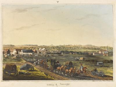 Village of Genappe-C. C. Hamilton-Giclee Print